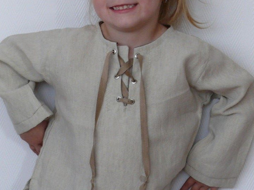 Children clothes and costumes