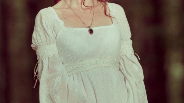 Bohemian wedding dress gauze cotton and lace, adjustable. Versatile romantic eco