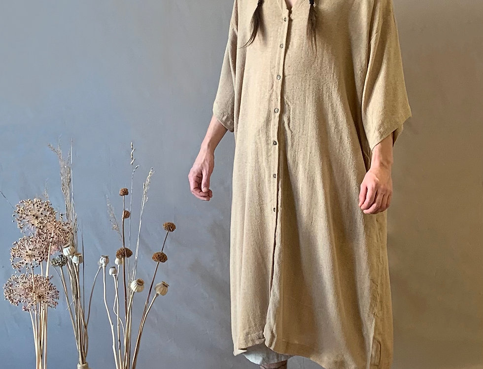 The Button Down Dress (Raw)