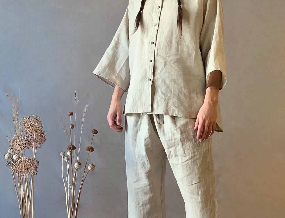The Button Up Shirt (Linen)