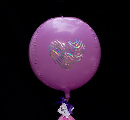 "Orbz Macaron Purple 17"""
