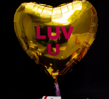 Globo Corazón Gigante