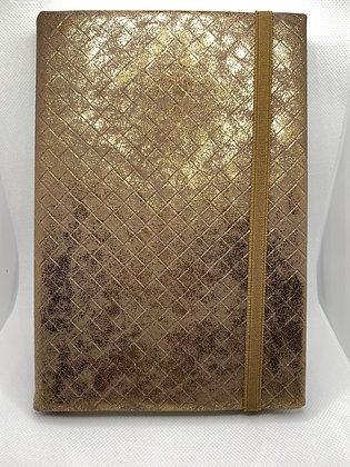 Gold Quilt Notebook