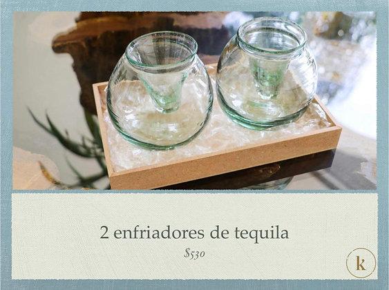 Set de Enfriadores de Tequila Envuelto