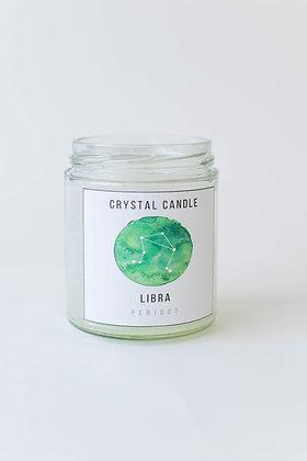 Crystal Zodiac Candle