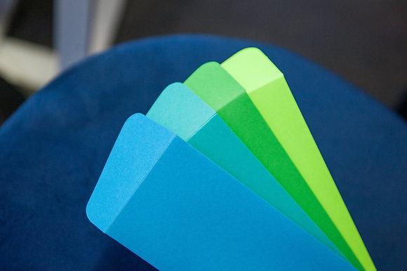 Blues & Greens Envelope Set