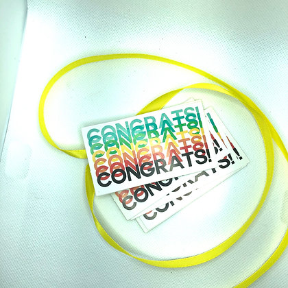 Tarjeta para Regalo - Congrats