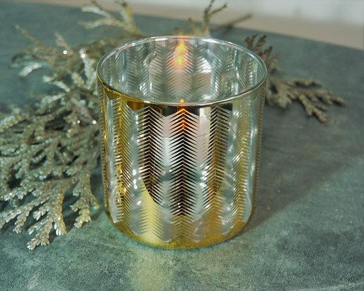 Porta Vela de Vidrio para Tea light