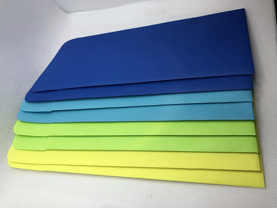 Sobres para Dinero - Blue & Yellow