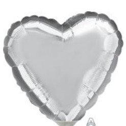 "Corazón Plata 17"""