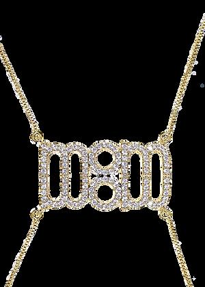 MOM Necklace Blanco