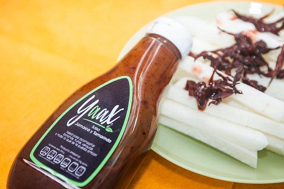Salsa de Jamaica con Tamarindo Yaax