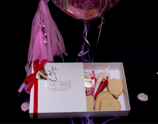 Kit para decorar galletas Valentine's