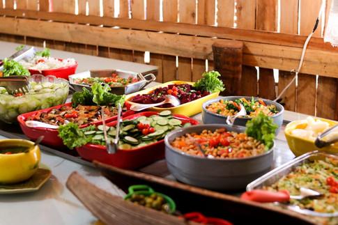 Nosso buffet de saladas