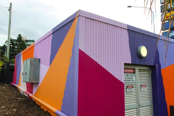 Toombul Shopping Centre Substation, Brisbane.