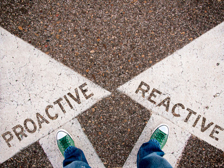 Proactive or Reactive? What Works Best in Business Works Best for Your Life!