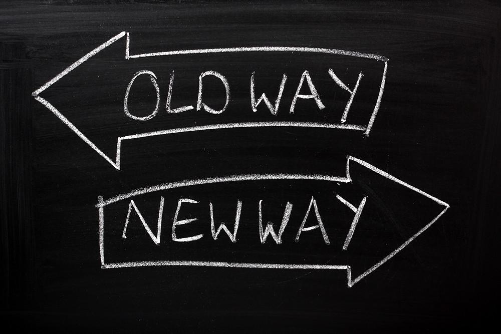 Old way or new way