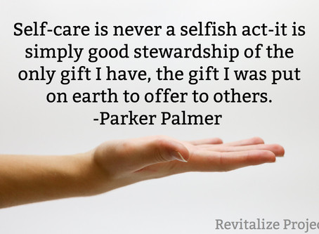 Revitalize with Self-Care