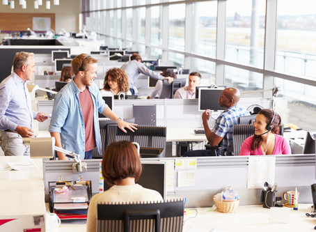 Offices, cubicles, open spaces...Oh my!