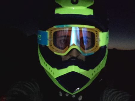 Insights from Unintentionally Mountain Biking at Night
