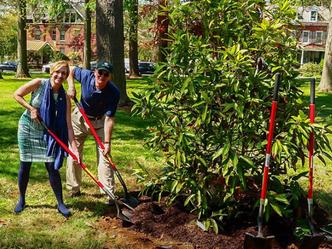 Arbor Day at Barclay Park