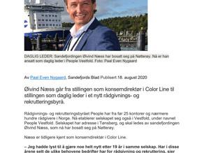 Sandefjords Blad, 18.08.20