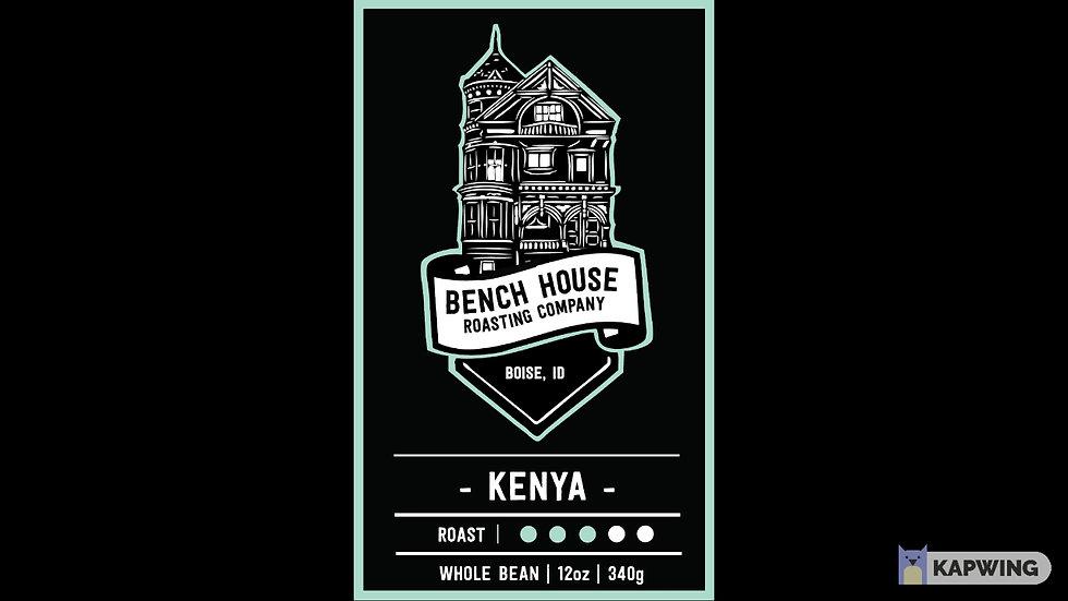 Kenya Whole Bean 12oz