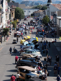Ferndale Concours on Main 2017 Aerial View Photo by Steve Martin.jpeg