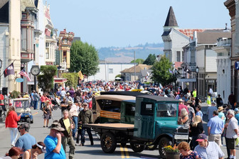Classic cars at Ferndale Concours on Main Car Show on Historic Ferndale CA Main Street.jpg