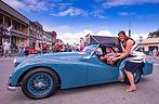 1957 Triumph TR-3 Winner Ferndale Concours on Main 2019 Car Show