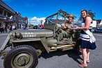1945 Jeep MB Military Vehice Winner 2019 Ferndale Concours on Main Car Show