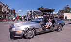 1981 DeLorean DMC-12 Winner Ferndale Concours on Main 2019 Car Show in the Victorian Village Humboldt Redwoods