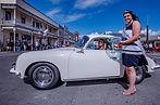 1965 Porsche 356SC Winner 2019 Ferndale Concours on Main Car Show