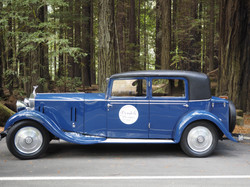 Ferndale Concours on Main Redwoods