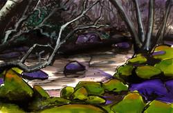 Mauve stream, Wicklow