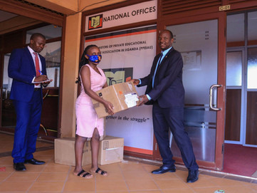 100 temperature guns sent to Uganda to enable 100 schools to re-open