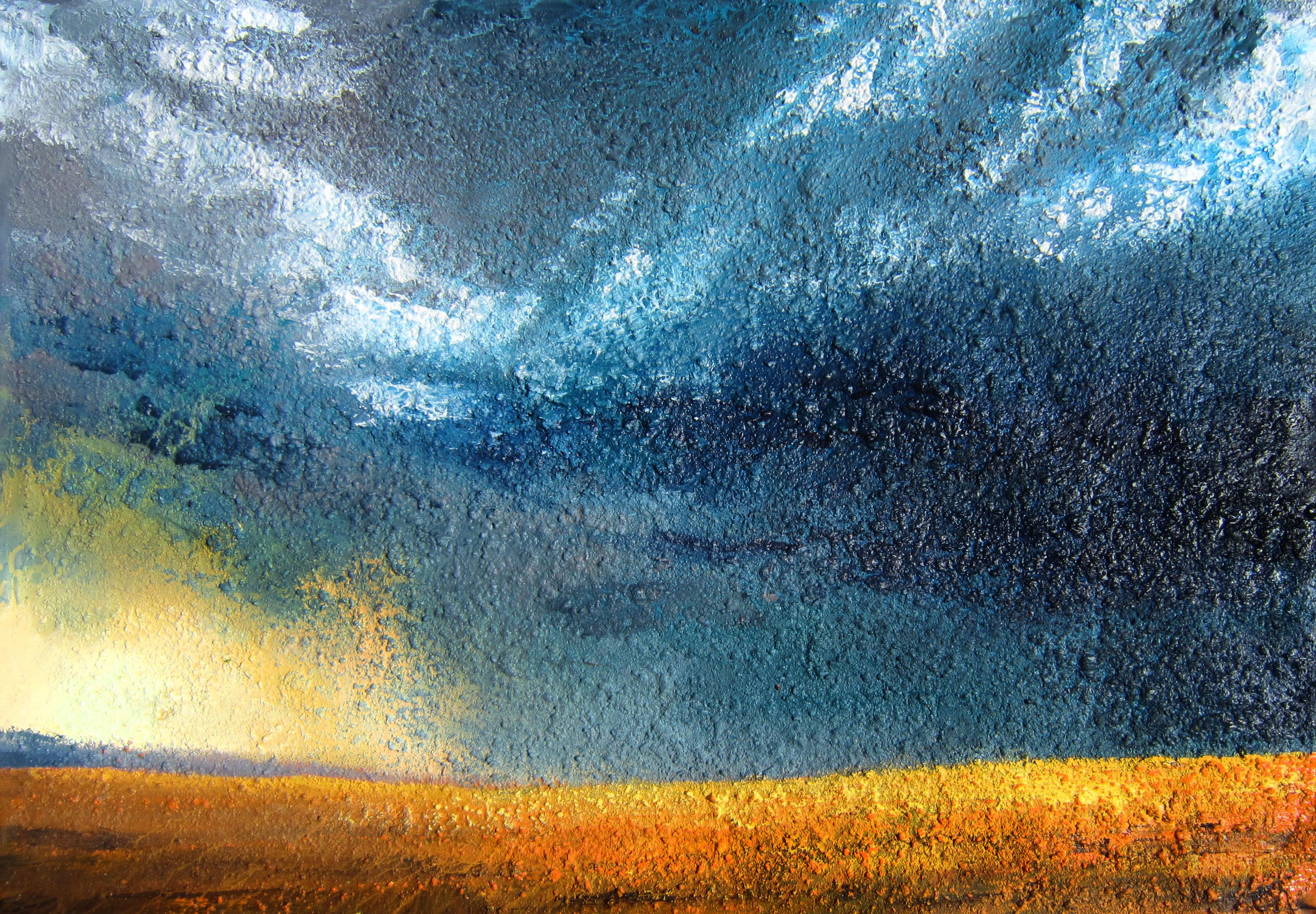 Wheatfield storm