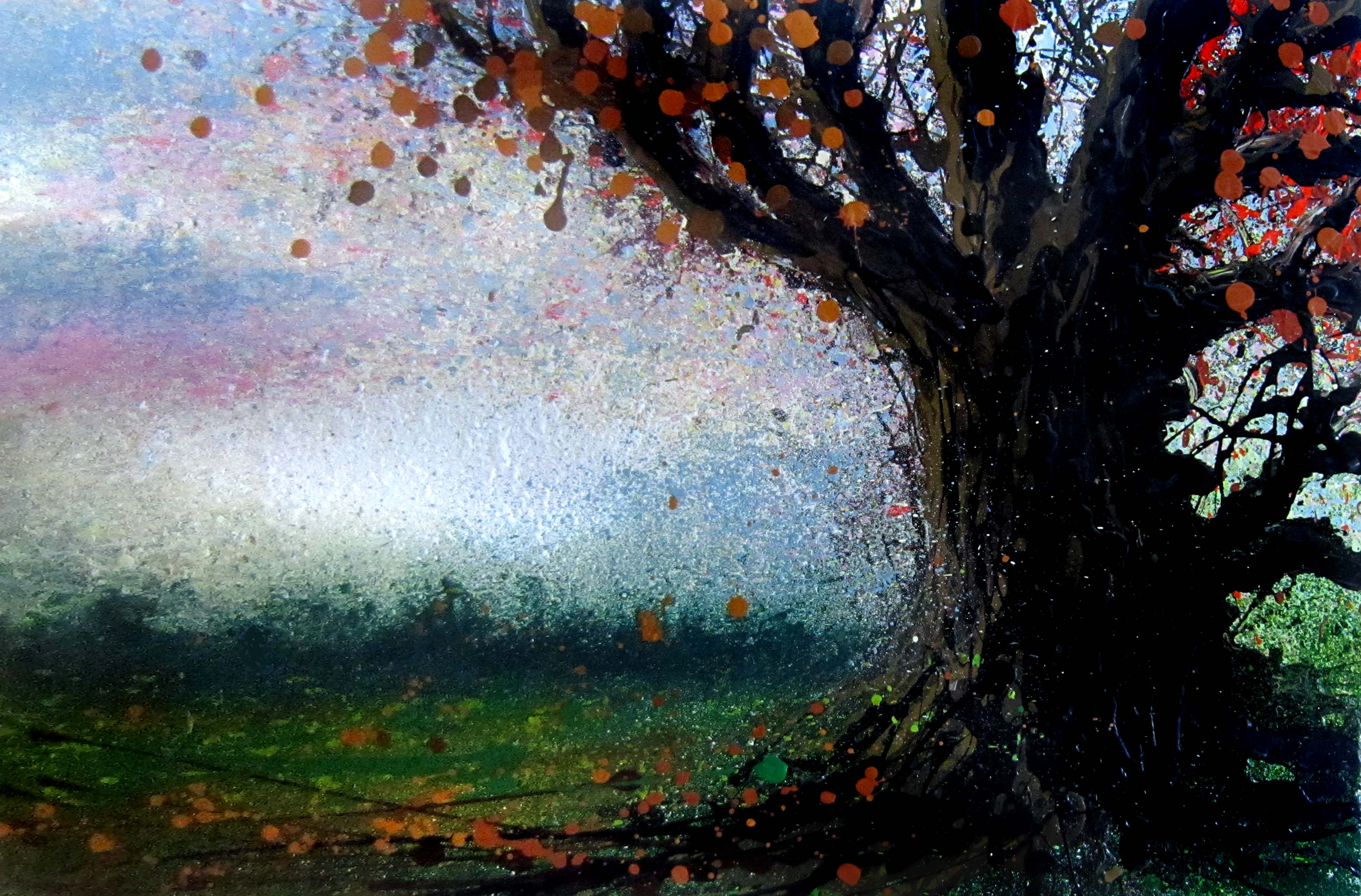 Late autumn afternoon, Toft