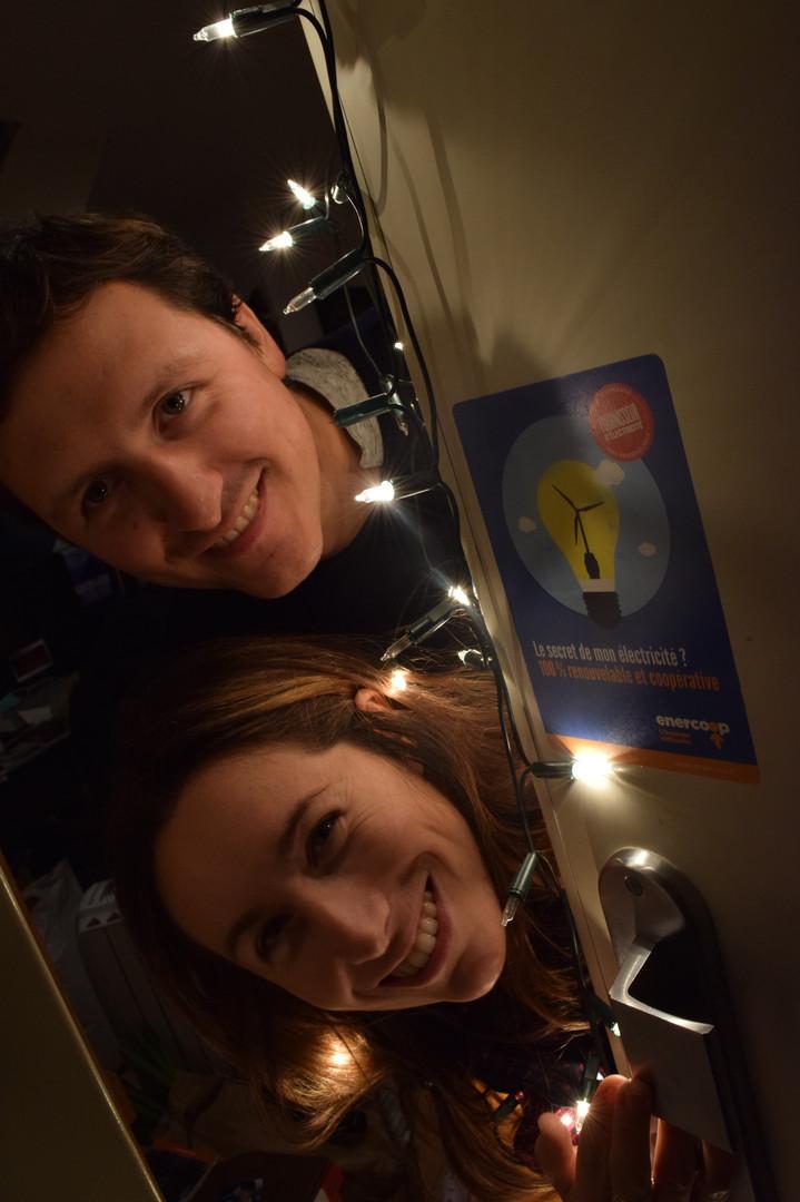 Laura & Richard - Sociétaires d'Enercoop