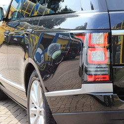 Range Rover after correction