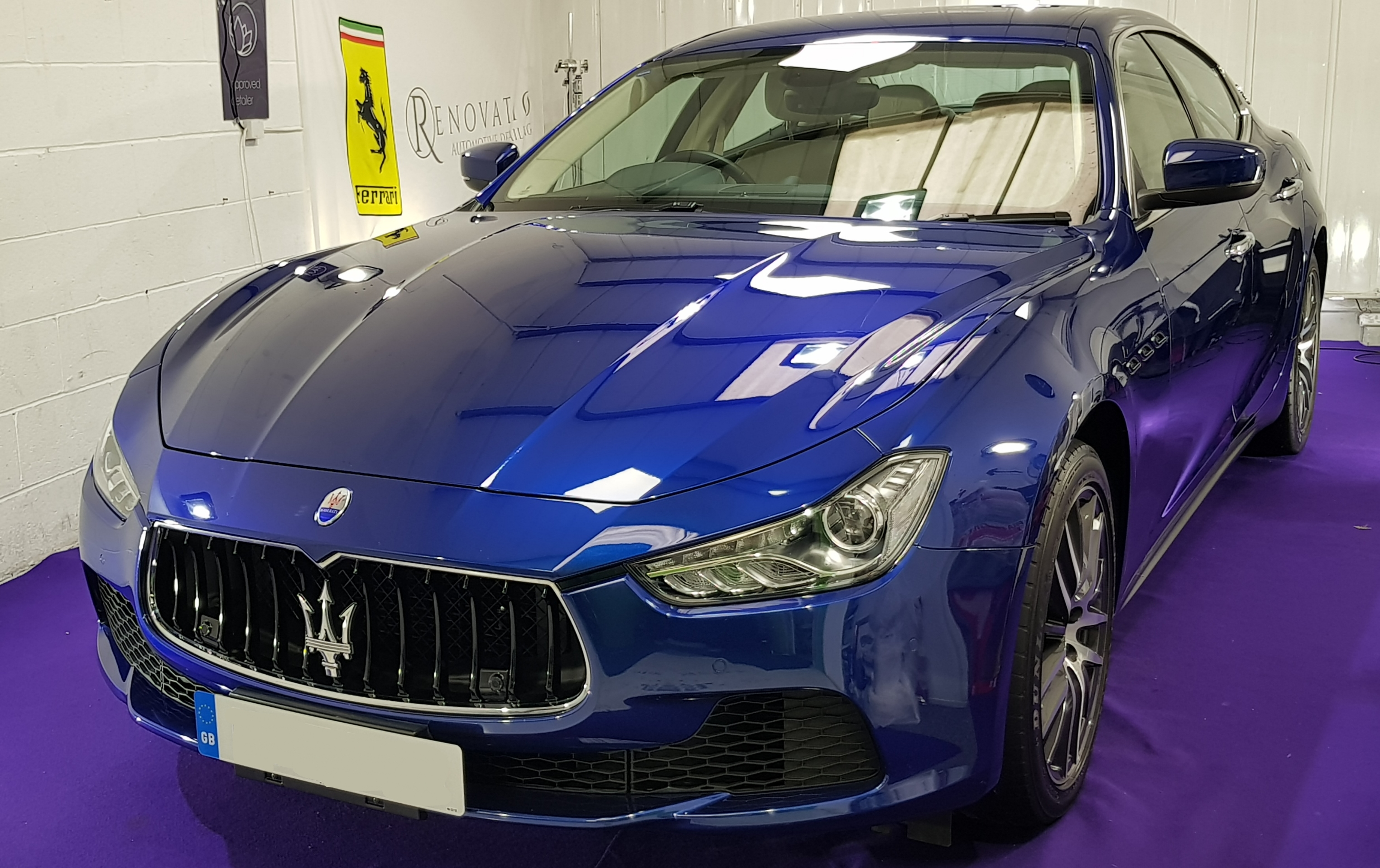 Maserati Ghibli Wax protection