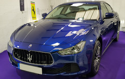 Maserati Ghibli Wax protection