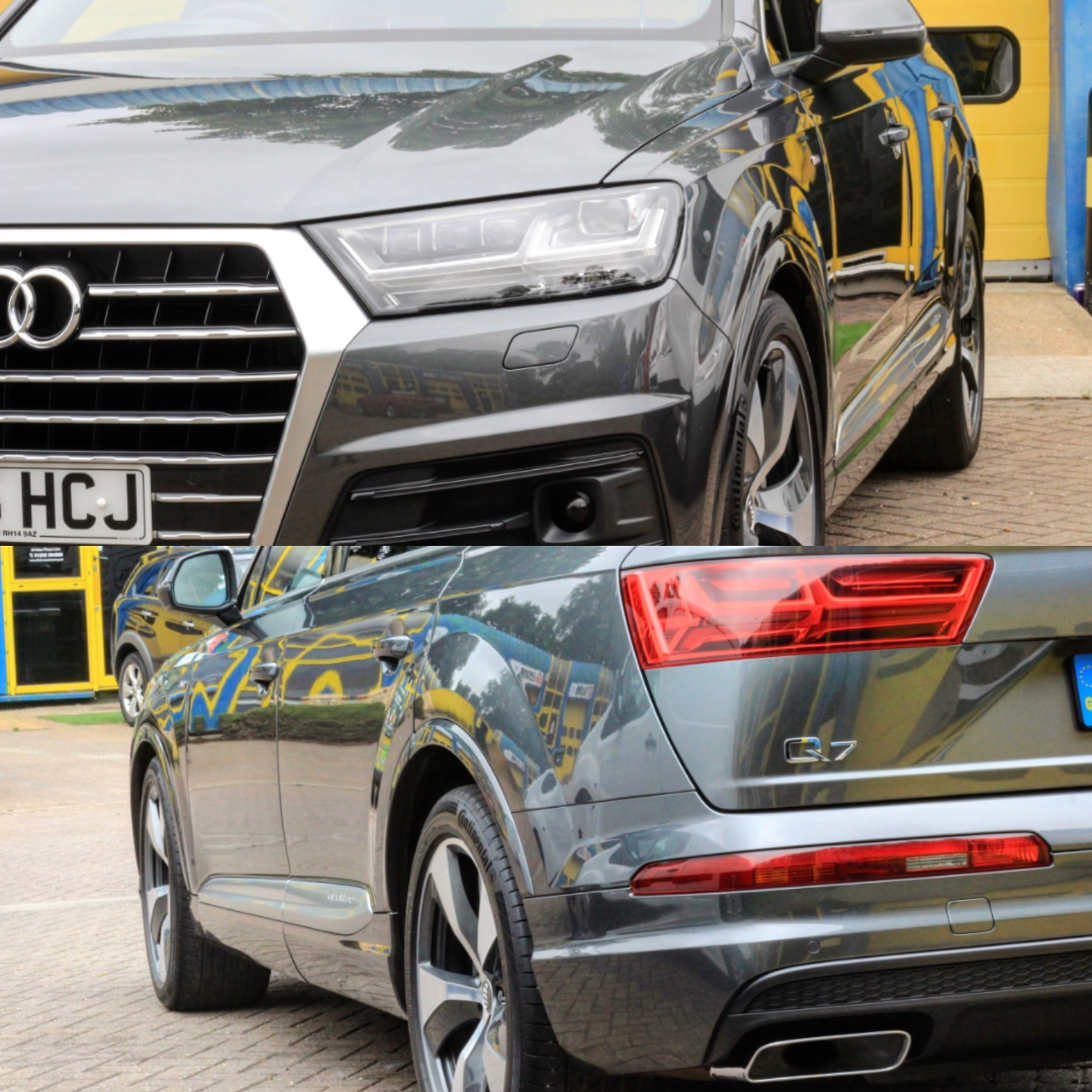 Audi Q7 Correction detail