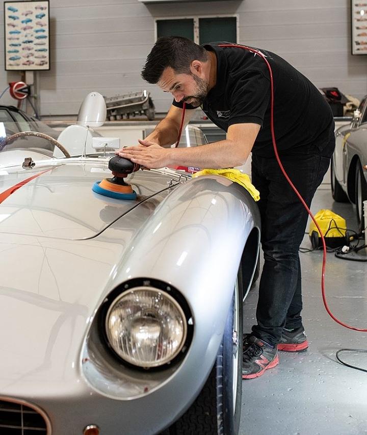 Ferrari 500 TRC Concours preparation