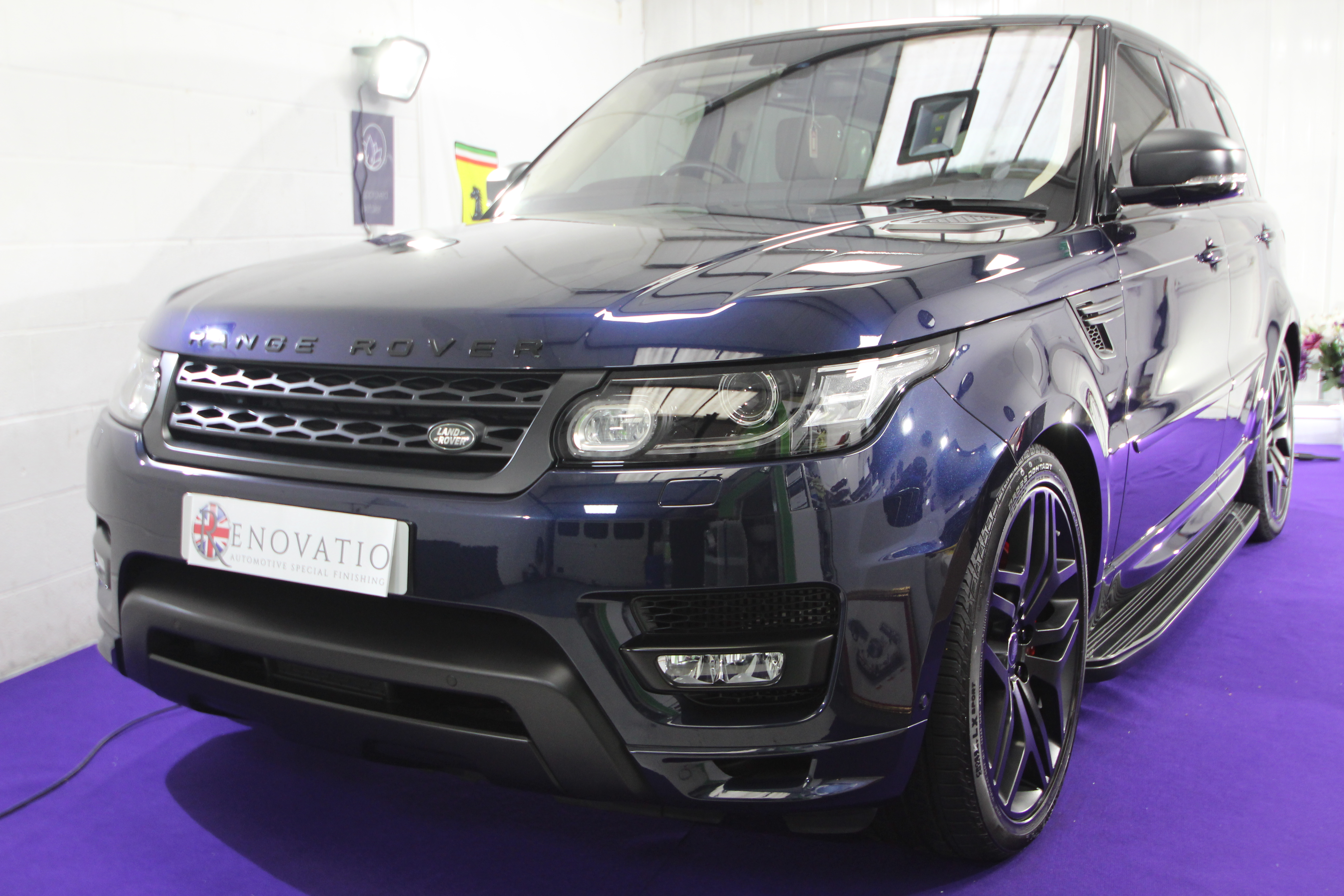 Range Rover Sport correct and coat