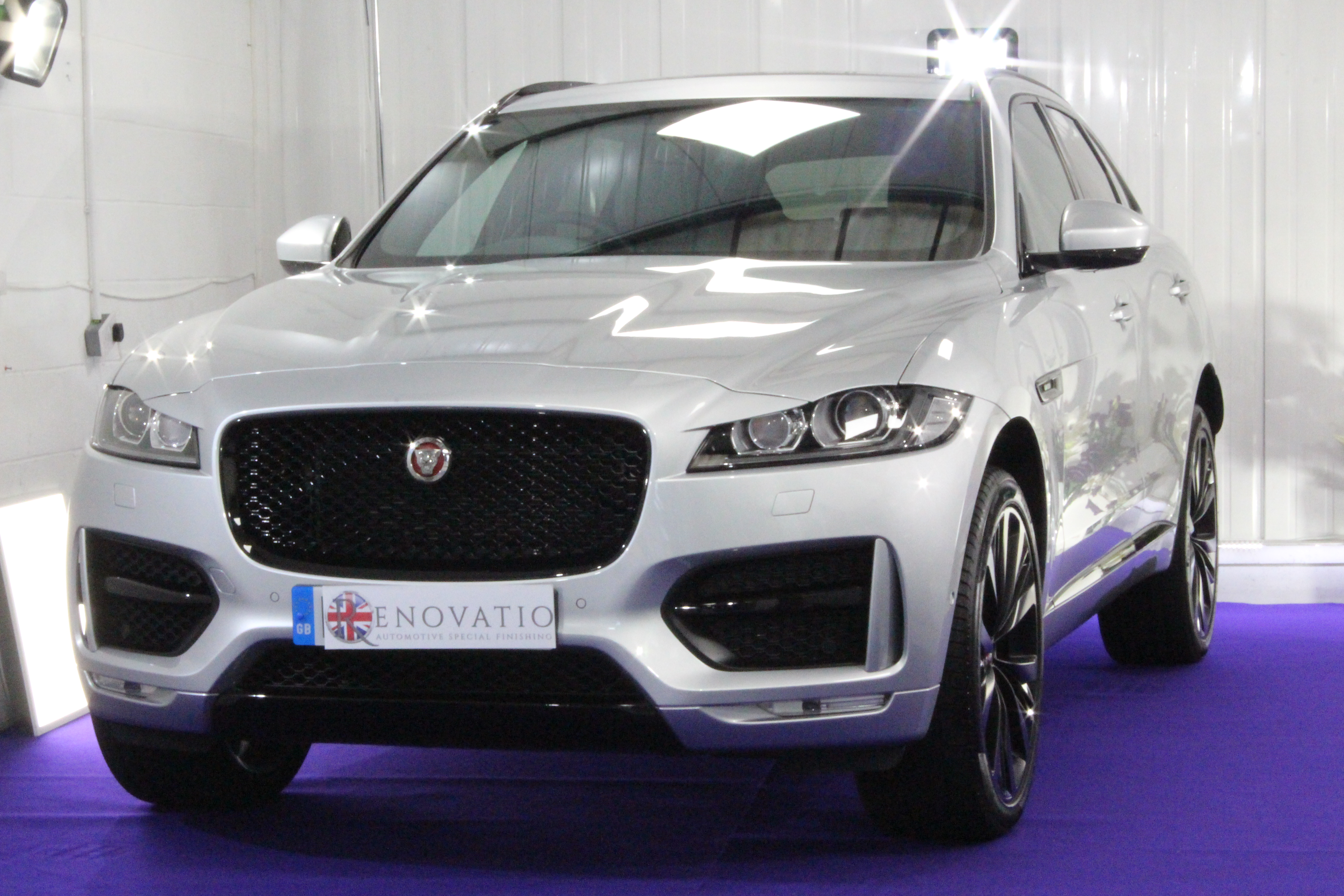 Jaguar new car ceramic protection