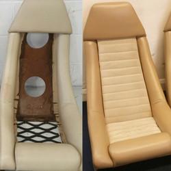 Lotus Eclate seat restoration
