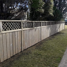 Keen Kiwi Blokes - Fence Cleaning After