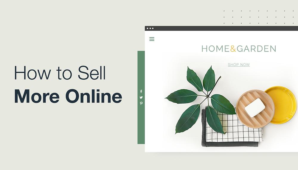 Example of homeware online store.