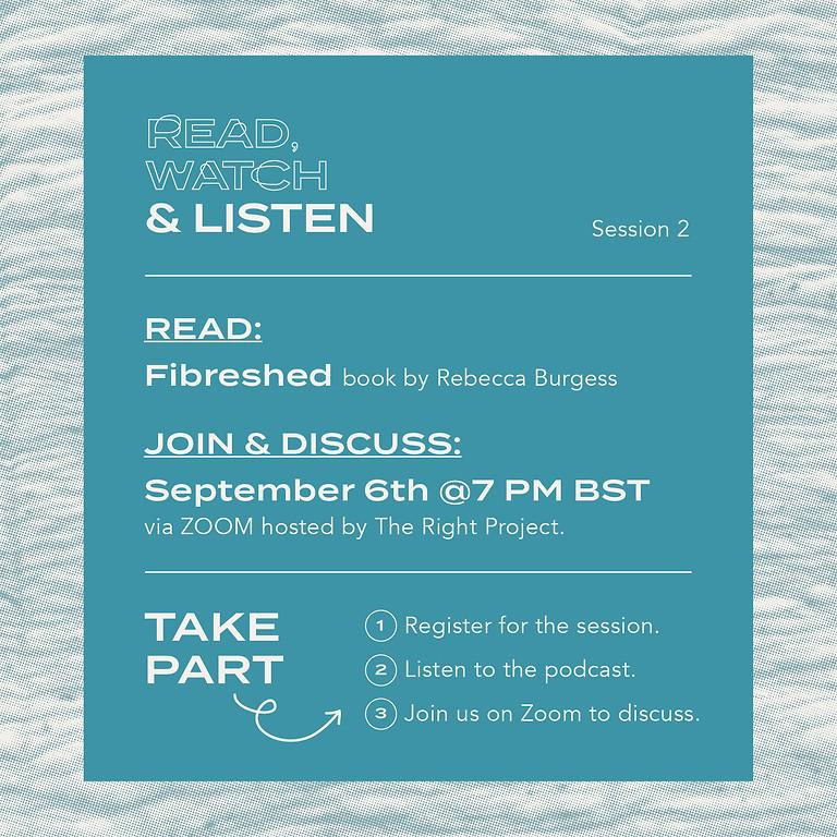 Read, Watch & Listen: Session 2